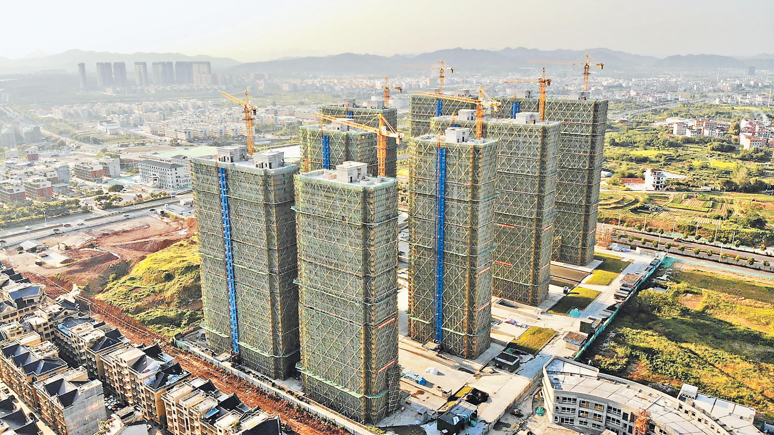 福田江村地块工程建设加速