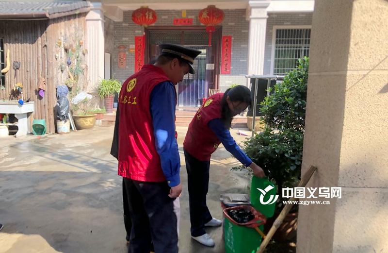 深化党员干部五(吾)带头 义乌义亭执法大队助力美丽乡村建设