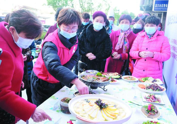 义乌稠城举行网红菜品大比武
