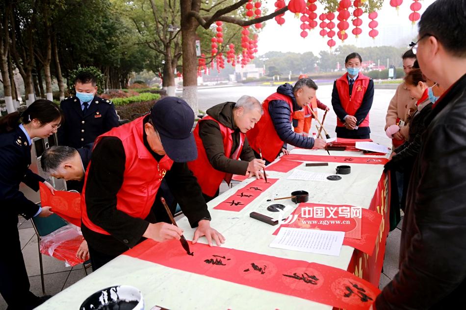 """义乌市税务局开展""""义""""起过年 """"税""""送温暖活动"""