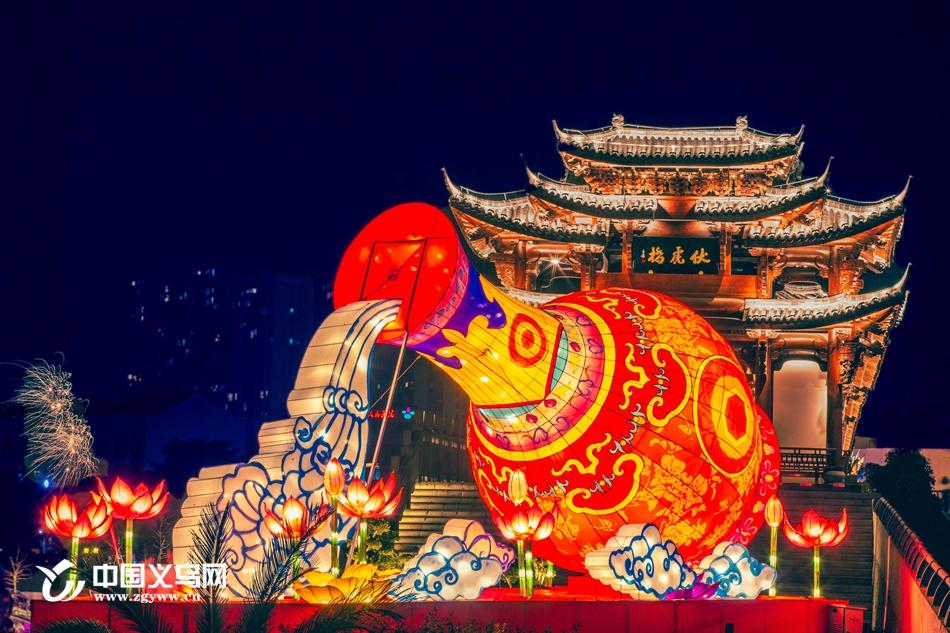 【网络中国节·春节】这个春节,义乌佛堂古镇璀璨夜景等你来打卡