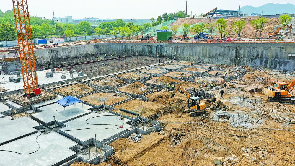 铁路义乌站站前广场建设增速