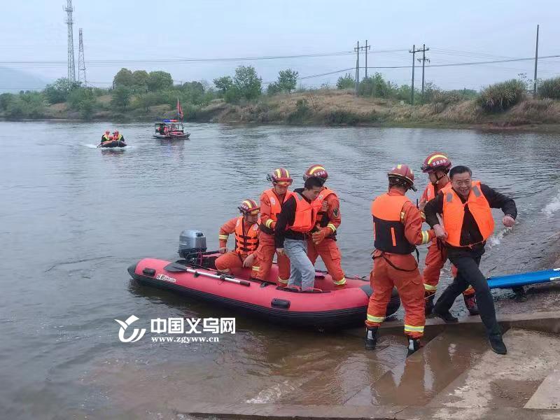义乌未雨绸缪 开展防汛抗洪排涝应急演练