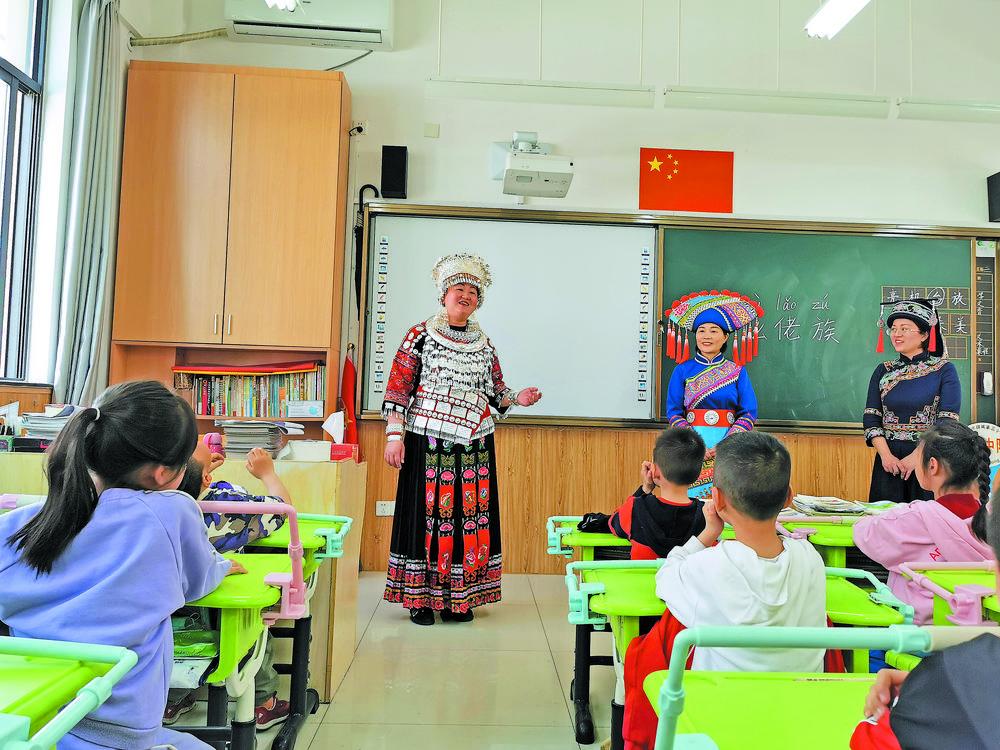 民族文化课走进义乌校园