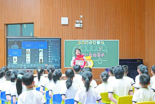 义乌市全力推进智慧平安校园建设