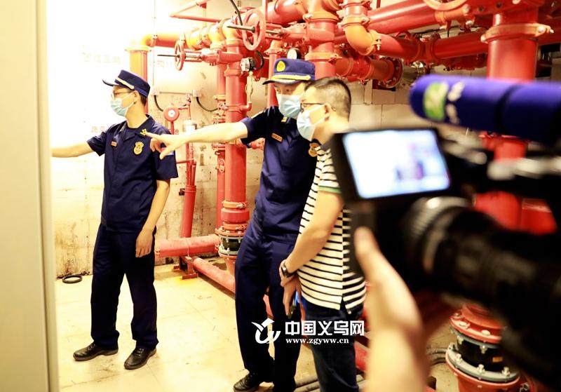 义乌消防联合媒体记者团点名曝光消防安全隐患