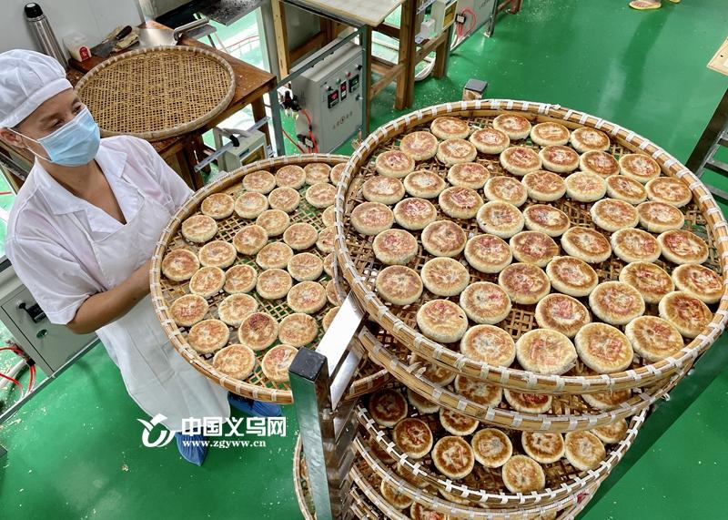 """义乌人的""""中秋味道""""上市啦!义亭月饼迎来产销旺季"""