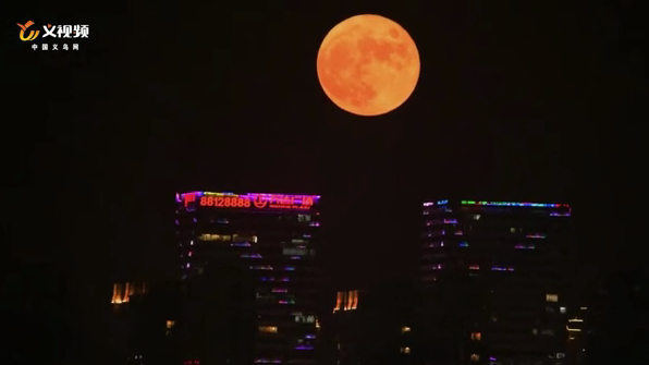 @义乌人 昨晚的朋友圈中秋圆月摄影大赛你参与了吗