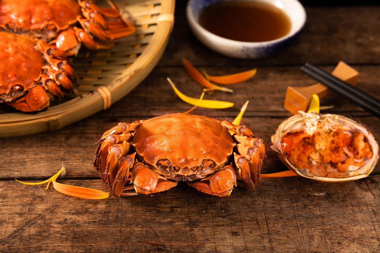 大闸蟹肥美正当时 扎心的是东海野生梭子蟹上市量将越来越少