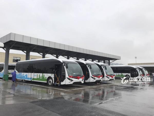义乌往返金华的BRT开通 首班6 00末班19 00图片