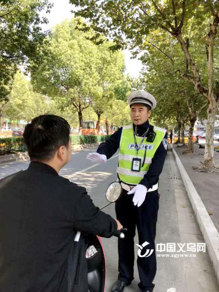 文明出行|交警陈中庆:人性执法 助力主城区血脉持续顺畅